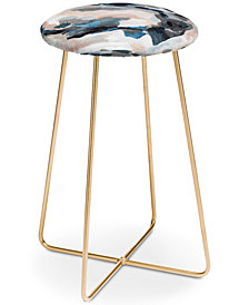Deny Designs Laura Fedorowicz Abstract Counter Stool