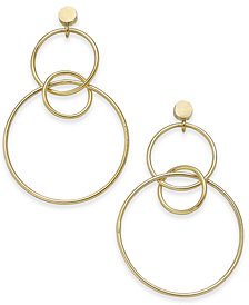 Thirty One Bits Harmony Hoop Earrings from The Workshop at Macy's