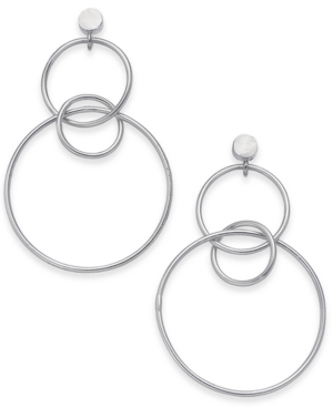 Image of Thirty One Bits Harmony Hoop Earrings from The Workshop at Macy's