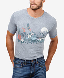 Lucky Brand Men's Floral Graphic T-Shirt