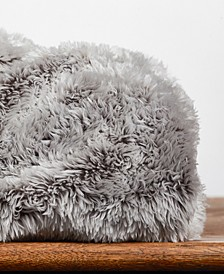 """Frosted Faux-Fur 50"""" x 60"""" Throw Blanket"""