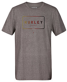 Hurley Men's Mixed Up Logo-Print T-Shirt
