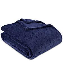 "Berkshire PrimaLush™ Pebbles Embossed 60"" x 90"" Twin Bed Blanket"