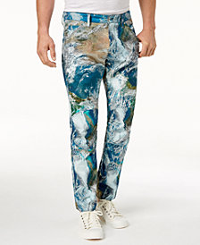 G-Star RAW Men's Earth Camo-Print Pants