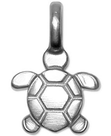 Alex Woo Mini Sea Turtle Charm in Sterling Silver