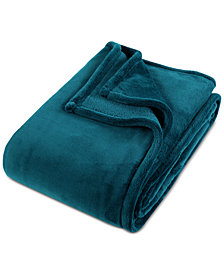 "Berkshire Extra-Luxe 50"" x 70"" Plush Throw Blanket"