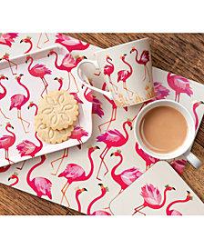 Sara Miller Flamingo Dinnerware Collection