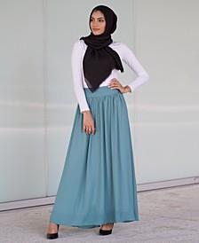 High-Waist Maxi Skirt