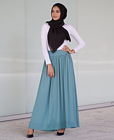 Verona Collection High-Waist Maxi Skirt