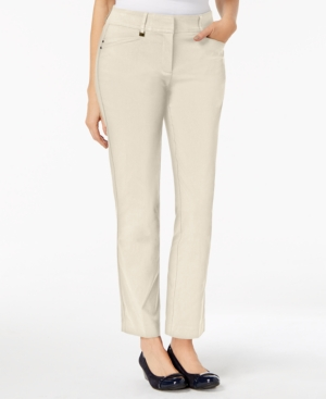 Jm Collection Regular Length Curvy-Fit Pants