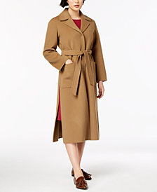 Weekend Max Mara Giostra Wool Trench Coat