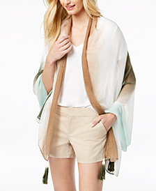I.N.C. Ombré Sarong Cover-Up & Wrap, Created for Macy's