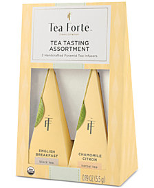 Tea Forté Duo Mundo  English Breakfast & Chamomile Tea
