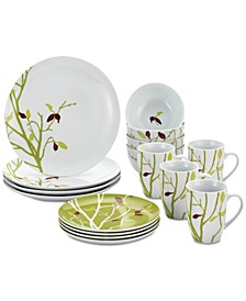 Seasons Changing 16-Pc. Dinnerware Set, Service for 4