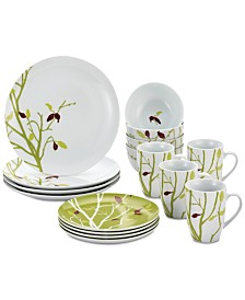 Rachael Ray Seasons Changing 16-Pc. Dinnerware Set, Service for 4