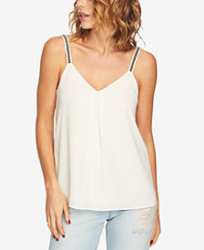 1.STATE Embroidered-Strap Camisole