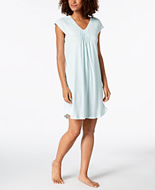 Miss Elaine Knit Short Nightgown