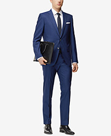 BOSS Men's Slim-Fit Pinstriped Suit