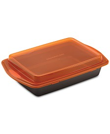 "Rachael Ray Non-Stick Bakeware 9"" by 13"" Cake Pan & Lid"