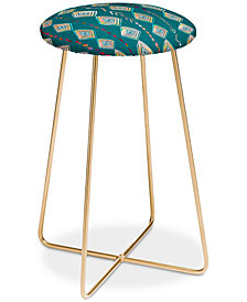 Deny Designs Iveta Abolina Morocco On My Mind Counter Stool