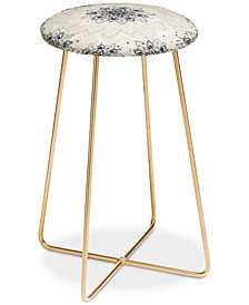 Deny Designs Rosebud Studio Trust Me Counter Stool