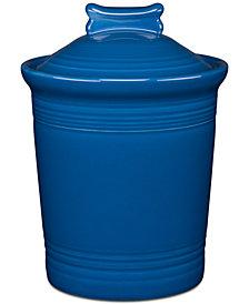 Fiesta Lapis Dog Treat Jar