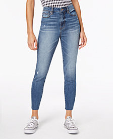 Dollhouse Juniors' High-Rise Ankle Skinny Jeans