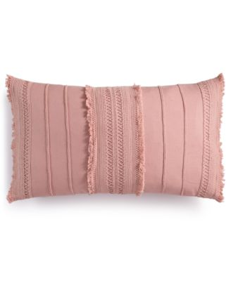 """Nagori Handcrafted 14"""" x 24"""" Decorative Pillow, Created for Macy's"""