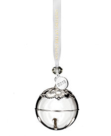 Waterford Silver Dated Bell Ornament