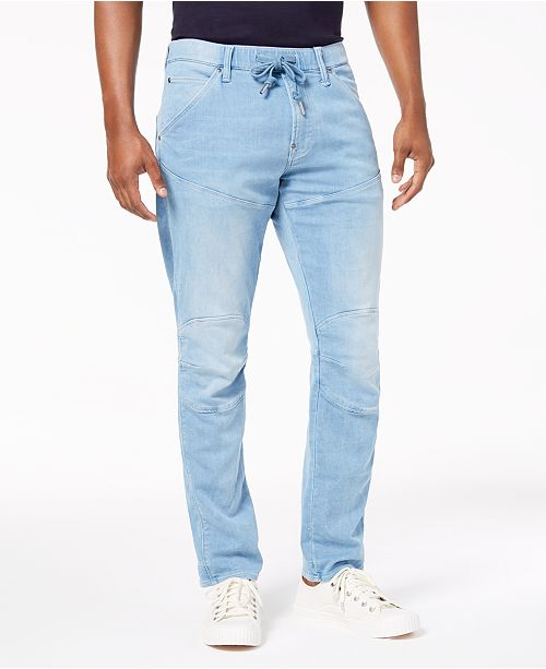 Men's 3D Sport Tapered Fit Stretch Jeans, Created for Macy's