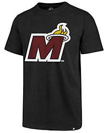 '47 Brand Men's Miami Heat Mashup Logo Club T-Shirt