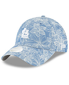 New Era Women's St. Louis Cardinals Faded Floral 9TWENTY Cap