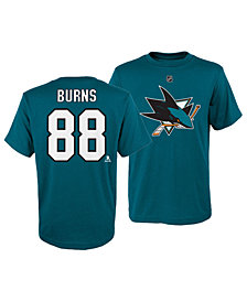 Outerstuff Brent Burns San Jose Sharks Player T-Shirt, Big Boys (8-20)