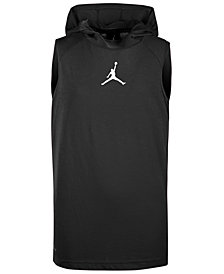 Jordan Big Boys 23 Alpha Sleeveless Hoodie