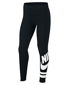Nike Big Girls Graphic-Print Active Leggings