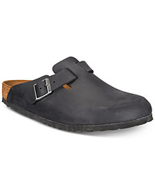 Birkenstock Men's Boston Leather Clogs