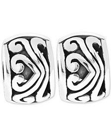 Rhona Sutton 2-Pc. Set Sterling Silver Filigree Stopper Bead Charms