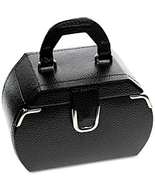 Black Miniature Rounded Jewelry Case
