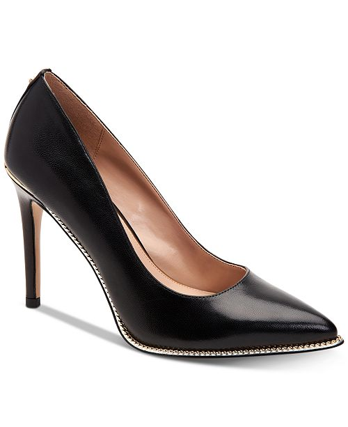 4c40efcfc8 BCBGeneration Harleigh Chain Pointy Toe Pumps   Reviews - Pumps ...