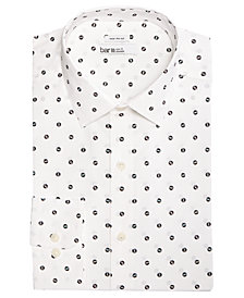 Bar III Men's Wear-Me-Out Slim-Fit Stretch Easy-Care Printed Dress Shirt, Created For Macy's