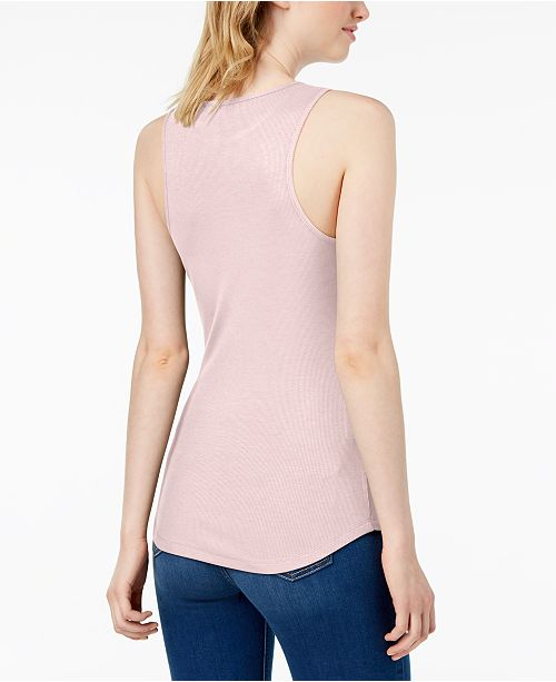 Bar for Pink III Ballet Tank Macy's Top Ribbed Created rXU6wrq