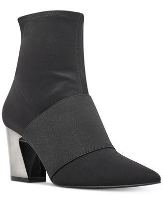 Nine West Delayna Booties Women's Shoes