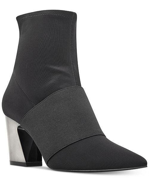 Nine West Delayna Booties Women's Shoes d5ockiFolS