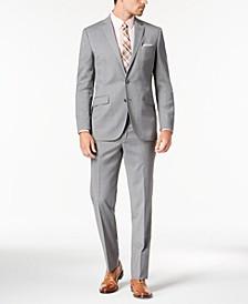 Men's Slim-Fit Stretch Performance Solid Travel Suit