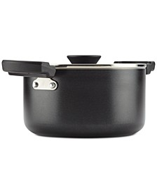 Neat Nest Space-Saving Non-Stick 6-Qt. Saucepot & Lid
