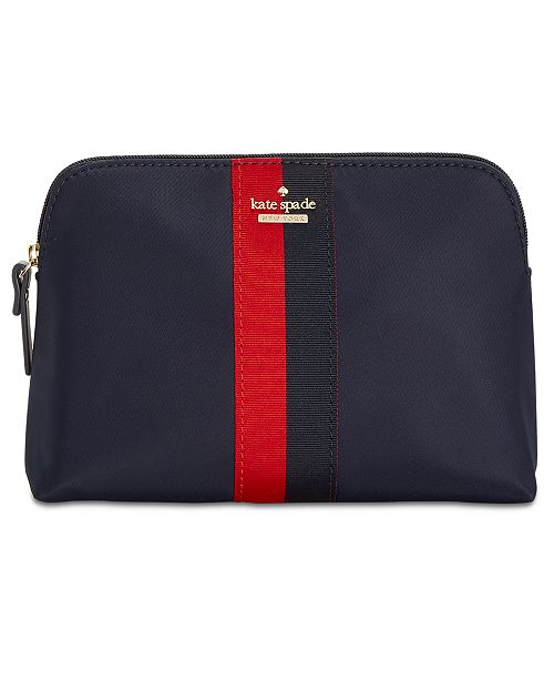 433a7c74139e kate spade new york. Racing Stripe Briley Cosmetic Case. Be the first to  Write a Review. main image