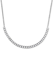 Wrapped in Love™ Diamond Adjustable Statement Necklace (1-1/2 ct. t.w.) in 14k White Gold