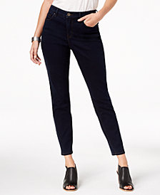 Style & Co Petite Tummy Control Skinny Jeans, Created for Macy's