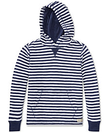 Polo Ralph Lauren Big Boys Waffle-Knit Cotton Hoodie