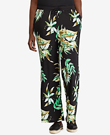 Lauren Ralph Lauren Plus Size Wide-Leg Pants